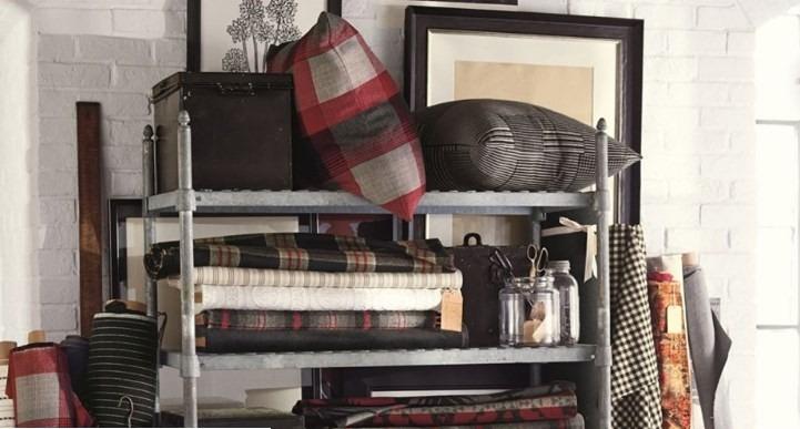 Moderní bytový textil v tmavších odstínech