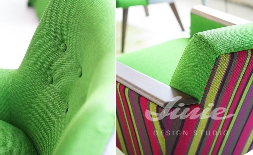 Moderní bytový textil v jasně barevných odstínech