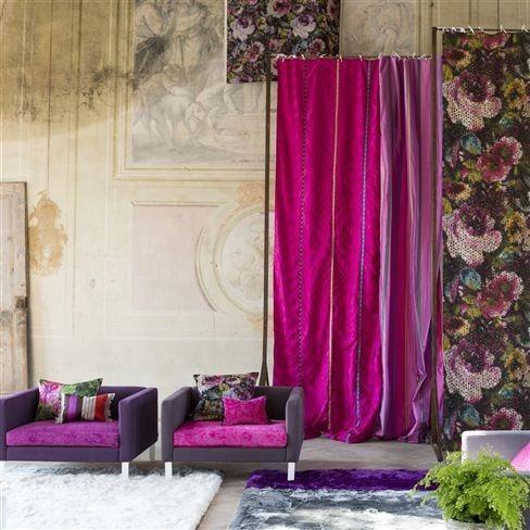 Moderní bytový textil do interiéru v růžových odstínech