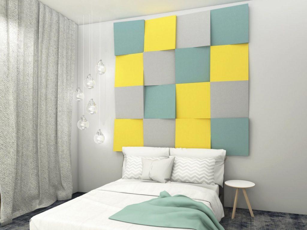 akustické a dekorativní obklady na zeď