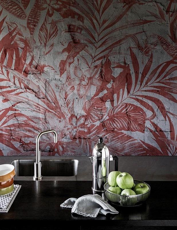 Fototapeta s přírodním motivem v kuchyni