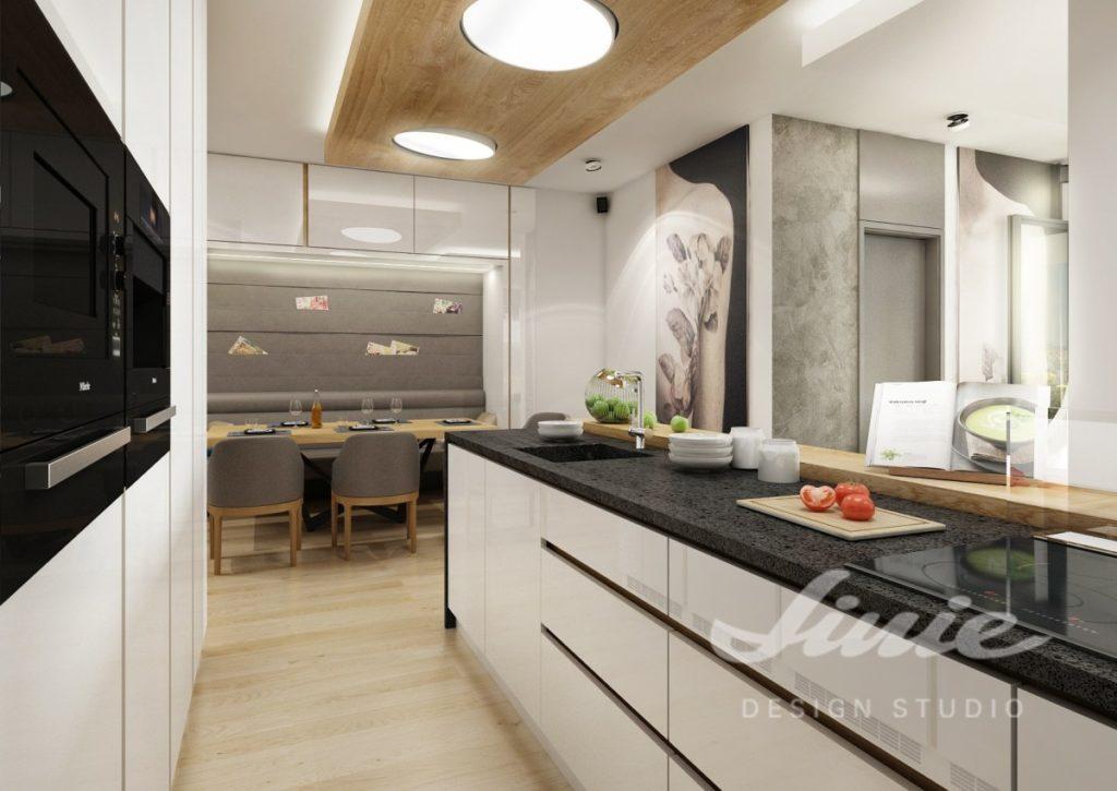 Inspirace pro kuchyně se skříňkami ve světlé barvě