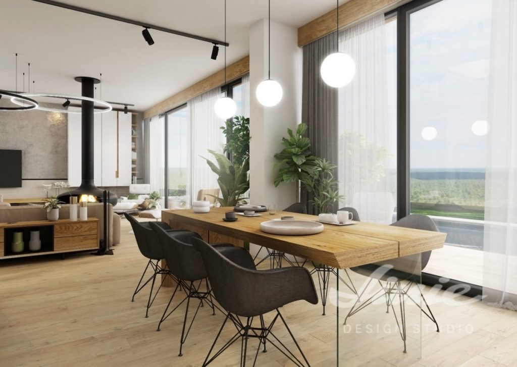Inspirace pro kuchyně s moderním světlým designem