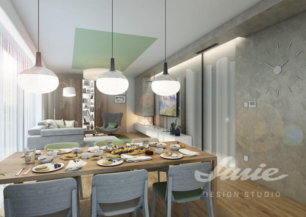 Inspirace pro kuchyně s moderním pastelovým designem