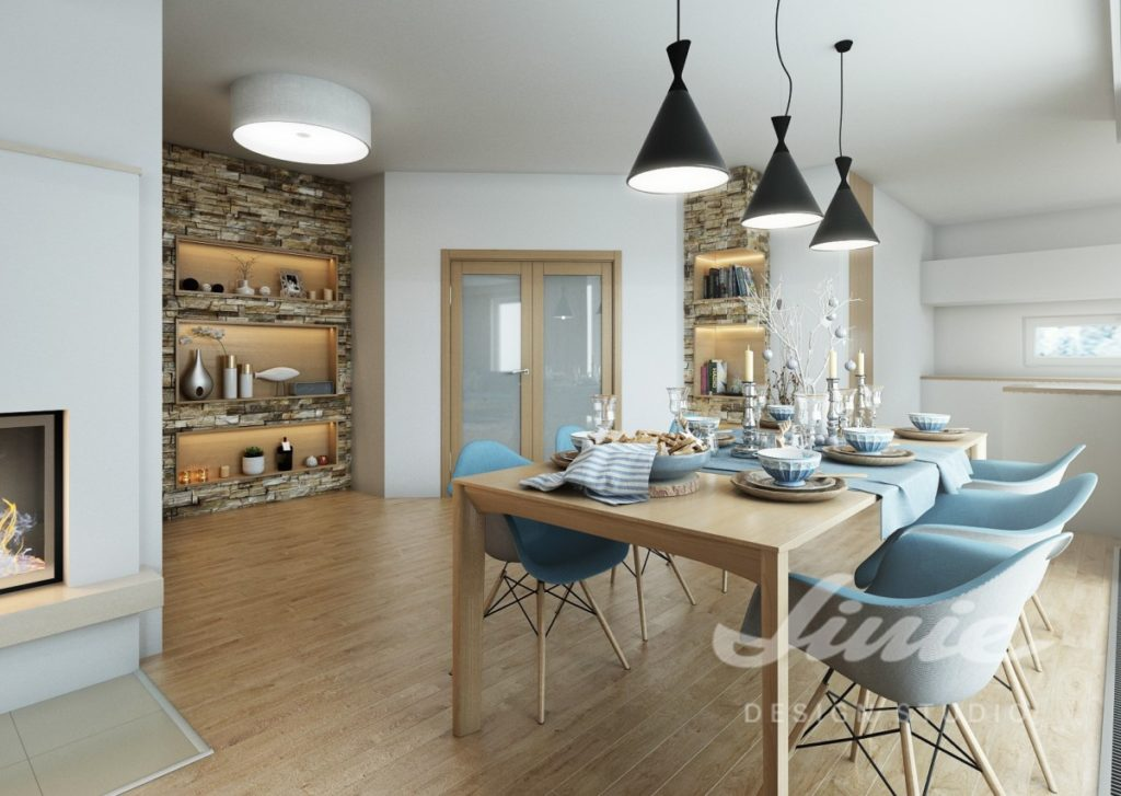 Inspirace pro kuchyně s něžně modrými prvky