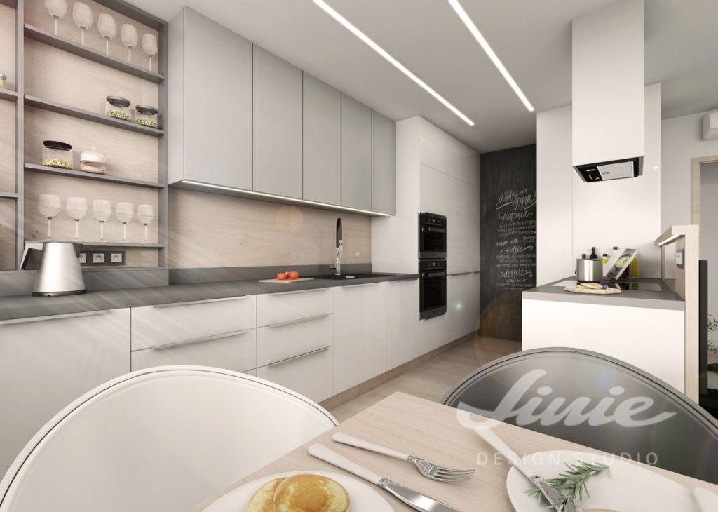 Inspirace pro kuchyně v minimalistickém provedení