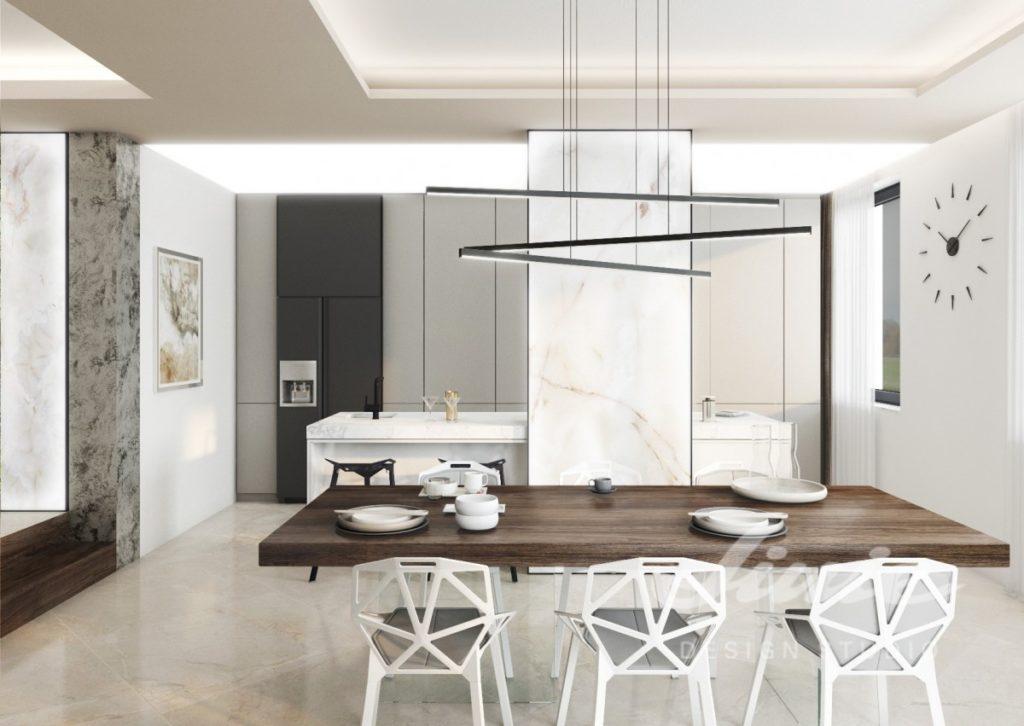 Inspirace pro kuchyně s minimalistickým vzhledem