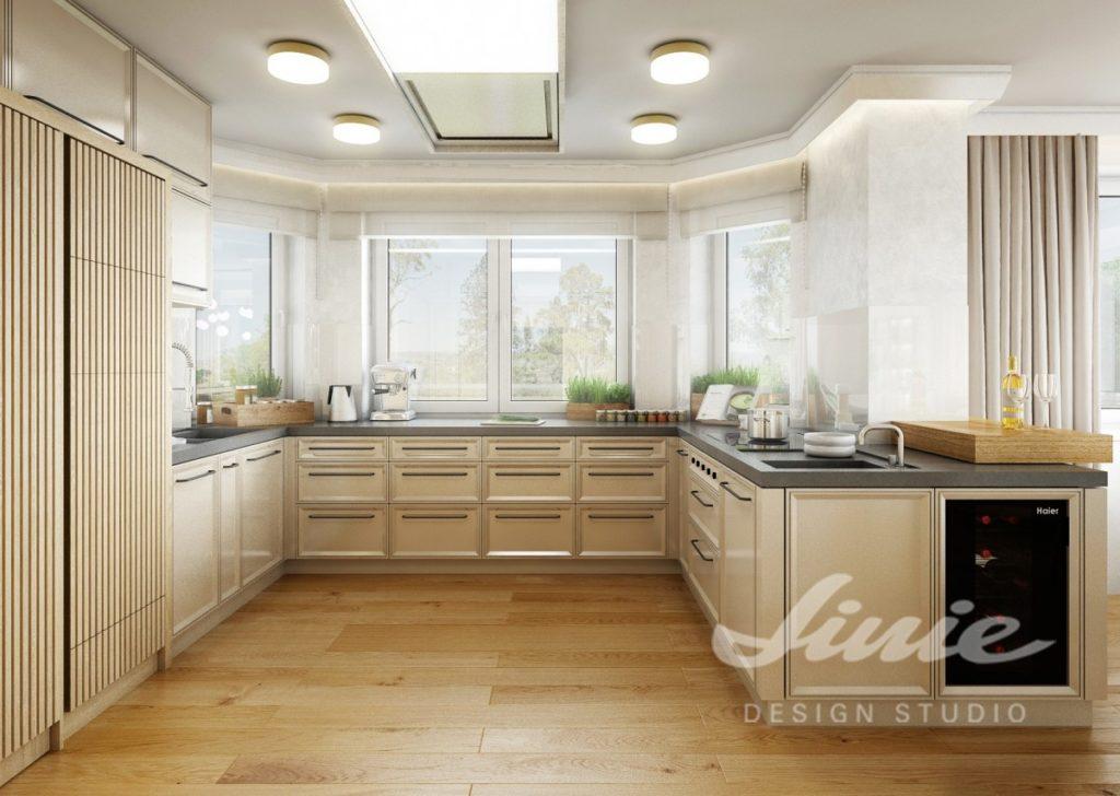 Inspirace pro kuchyně s interiérem ve světlém dřevě