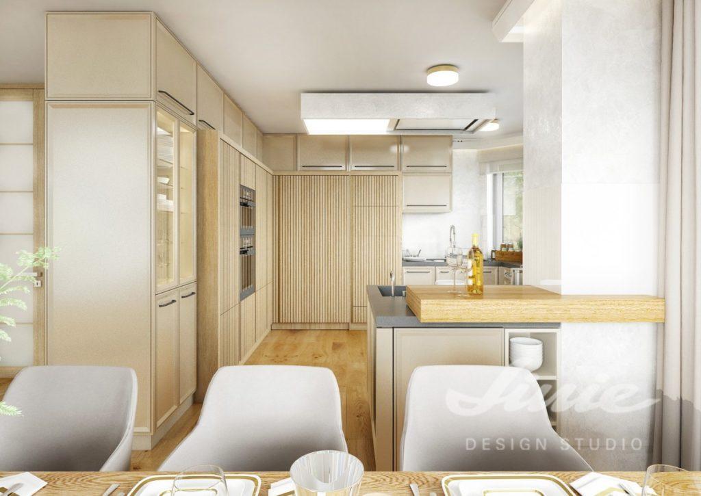 Inspirace pro kuchyně ve světlém dřevě