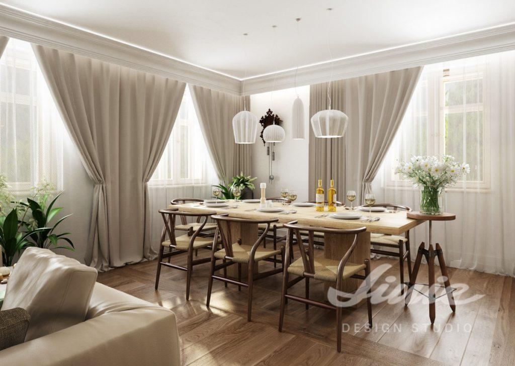 Inspirace pro kuchyně s interiérem v krémové barvě