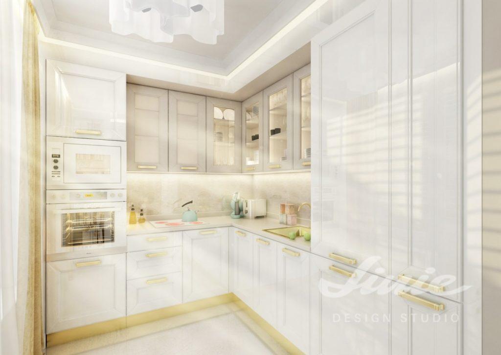 Inspirace pro kuchyně s detaily ve žlutých tónech