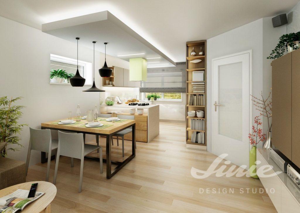 Inspirace pro kuchyně s detaily ve světle zelených odstínech