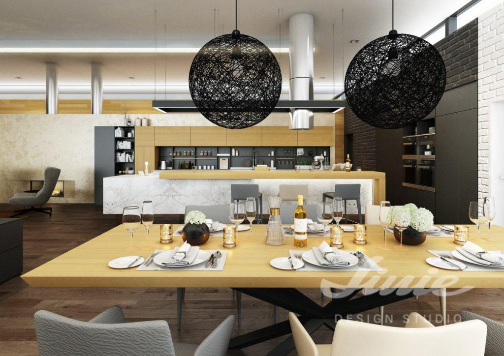 Inspirace pro kuchyně s nábytkem ze žlutého dřeva