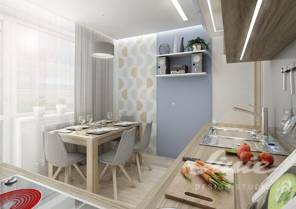 Inspirace pro kuchyně s pastelovými prvky
