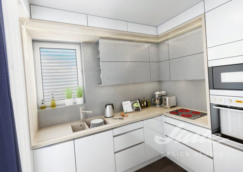 Inspirace pro kuchyně v bílé barvě