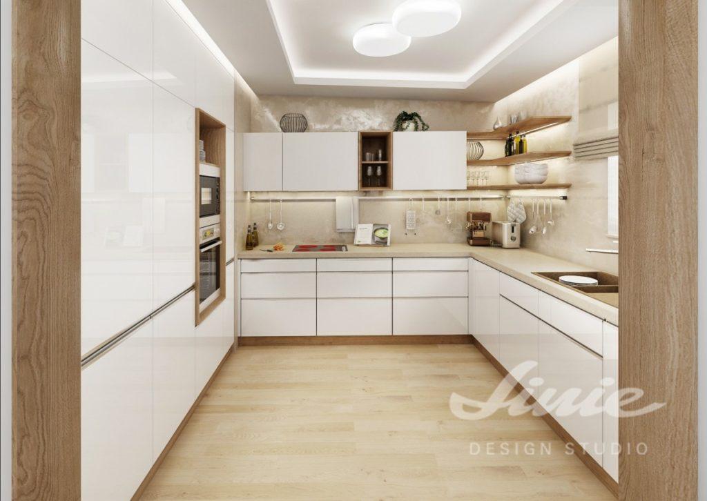 Inspirace pro kuchyni se skříňkami v bílé barvě
