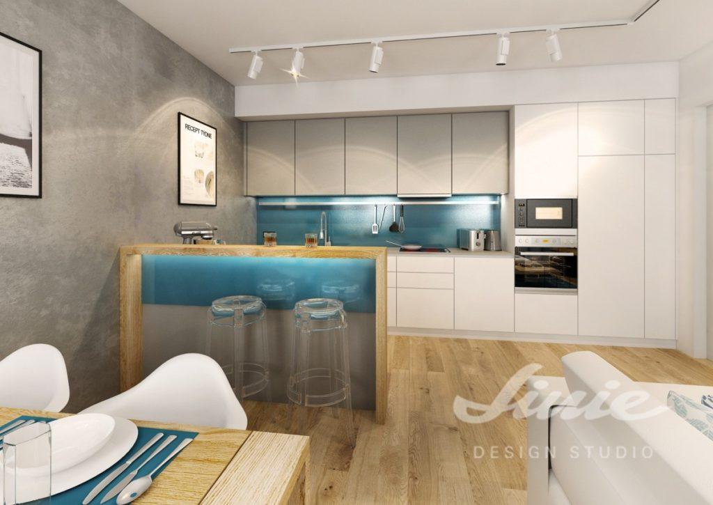 Inspirace pro kuchyně s modrými prvky
