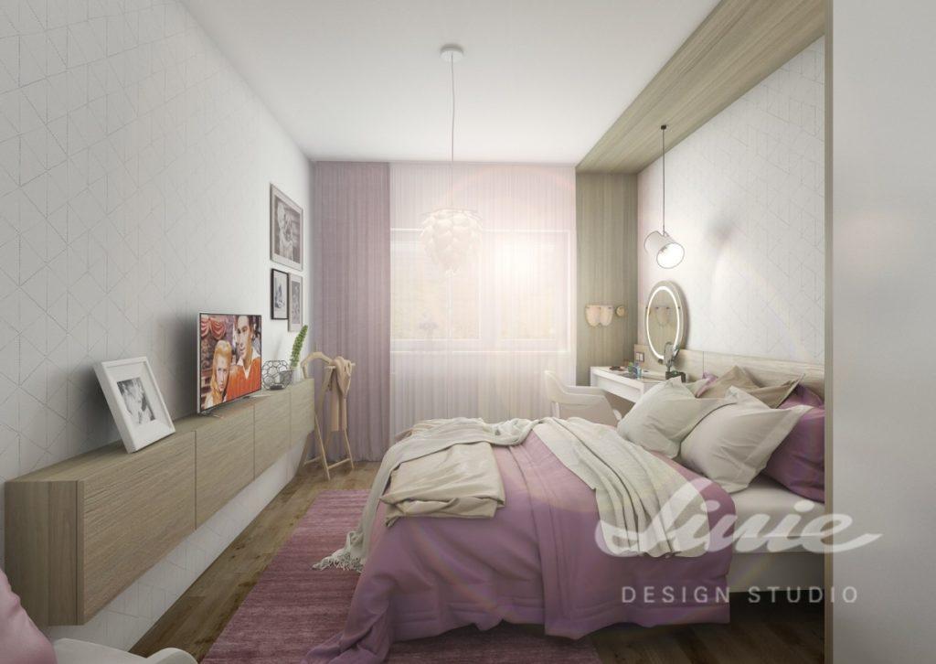 Inspirace pro ložnice zařízené ve fialových odstínech
