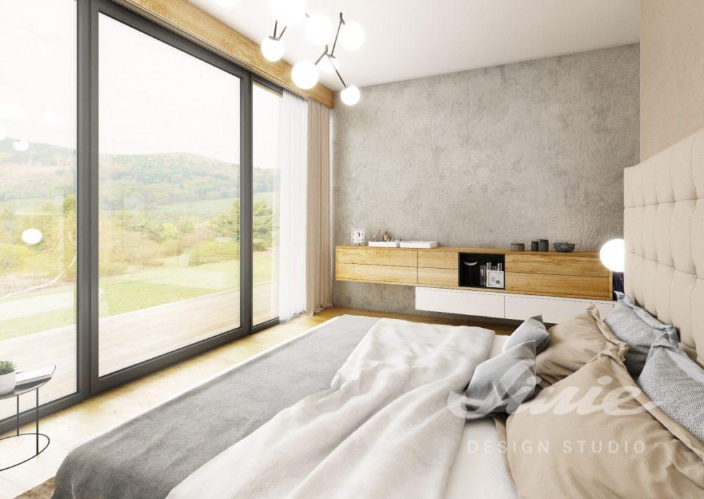 Inspirace pro ložnice v moderním stylu s neutrálními odstíny