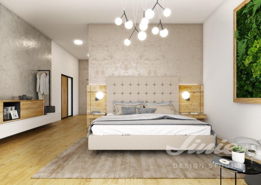Inspirace pro ložnice v moderním stylu s neutrálními barvami