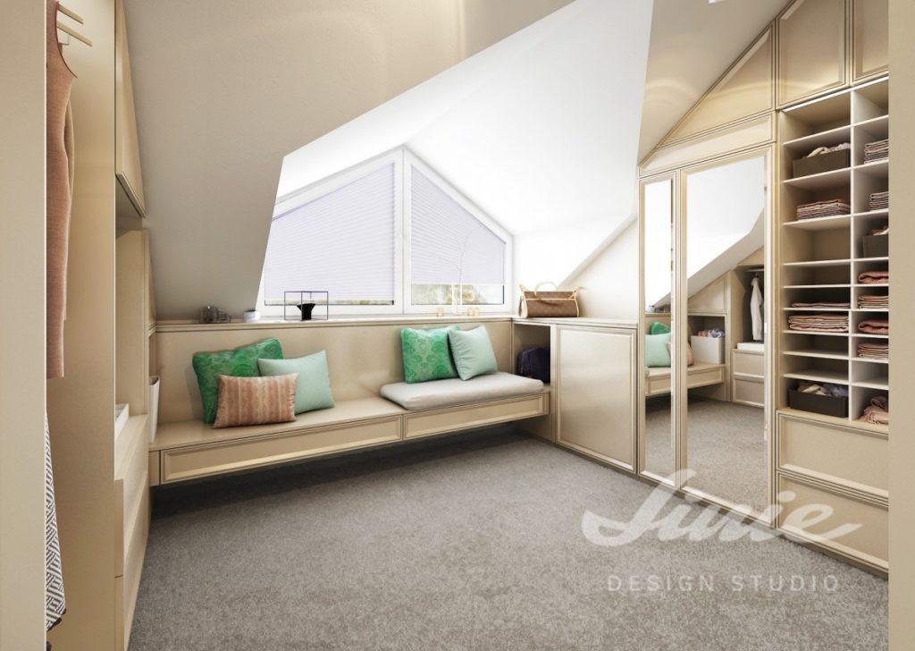 Inspirace pro ložnice v moderním stylu s textilem v zelené barvě
