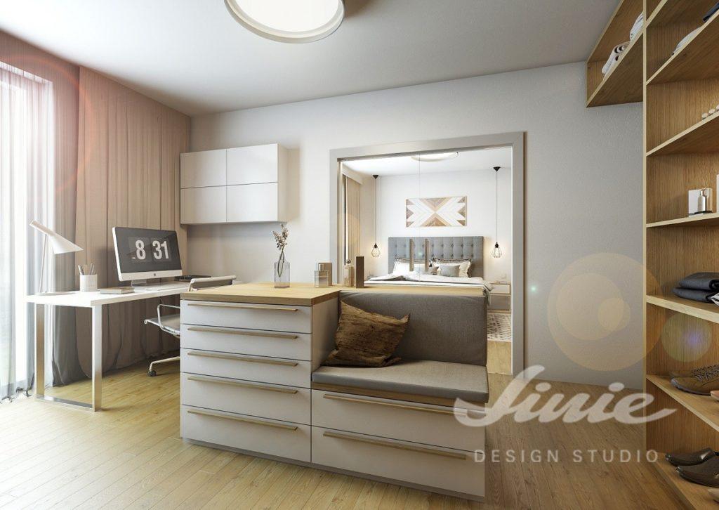 Inspirace pro ložnice zařízené v přírodních odstínech