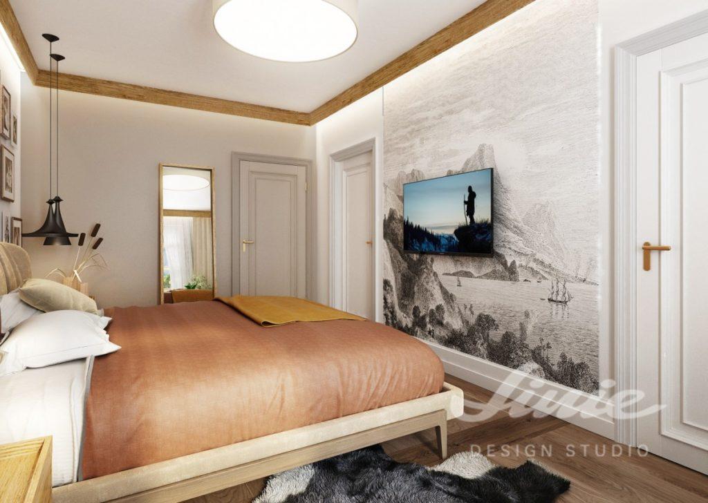Inspirace pro ložnice v moderním stylu
