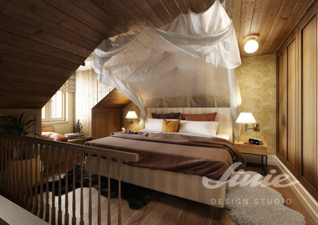 Inspirace pro ložnice s bílým a hnědým textilem