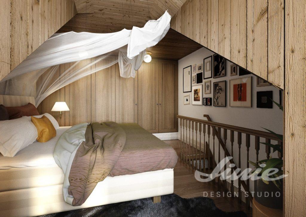 Inspirace pro ložnice s bílým baldachýnem