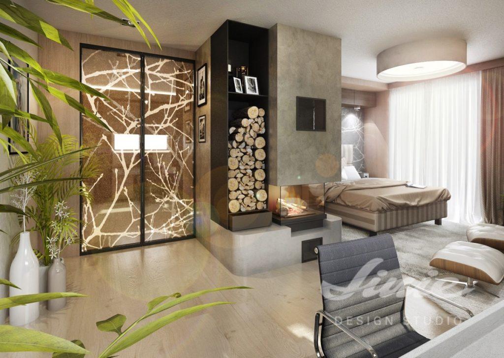 Inspirace pro ložnice s přírodními motivy