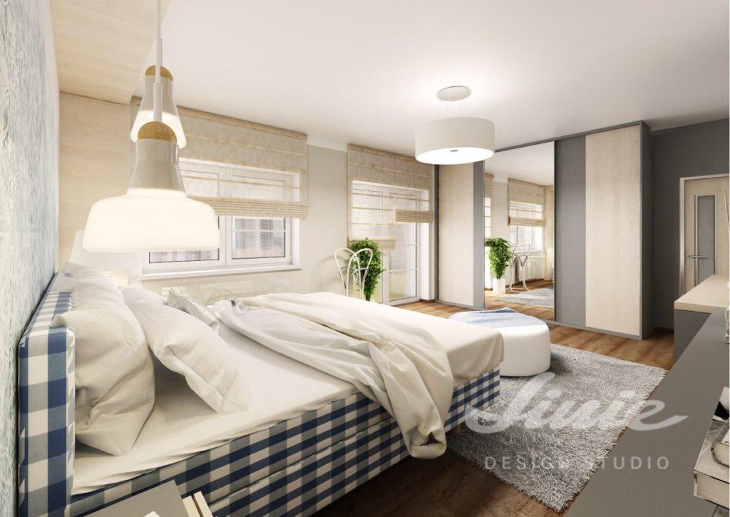 Inspirace pro ložnice v moderním provedení s krémovými prvky