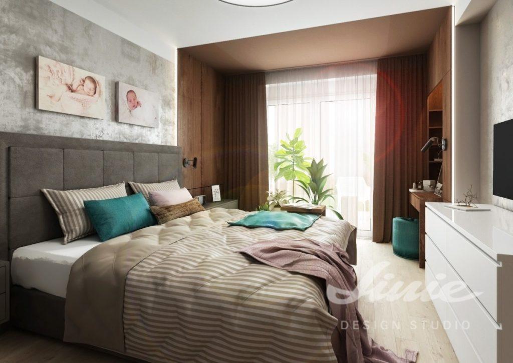 Inspirace pro ložnice zařízené v béžových odstínech