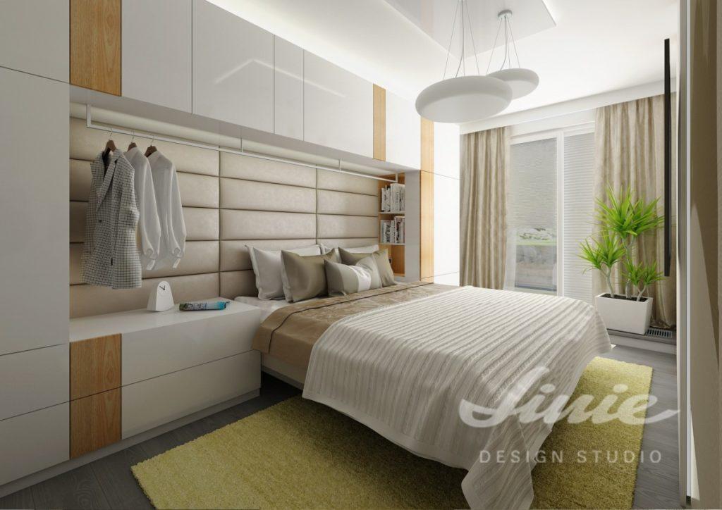 Inspirace pro ložnice v moderním provedení s béžovými prvky
