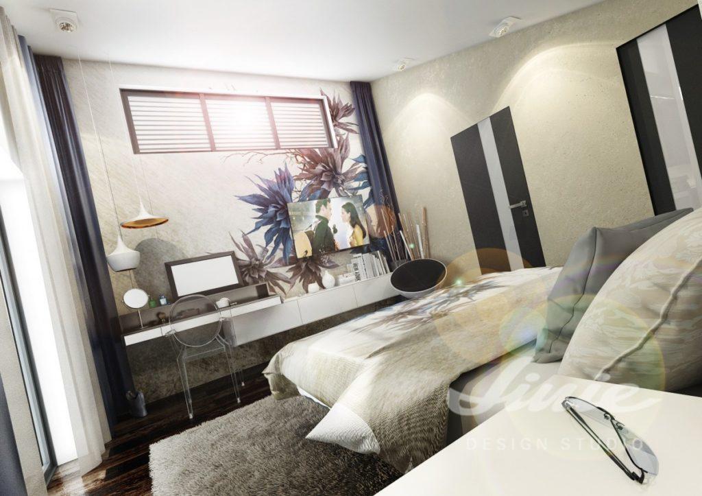 Inspirace pro ložnice v neutrálních barvách