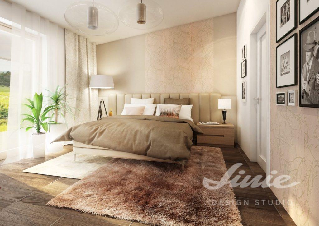 Inspirace pro ložnice s béžovým textilem