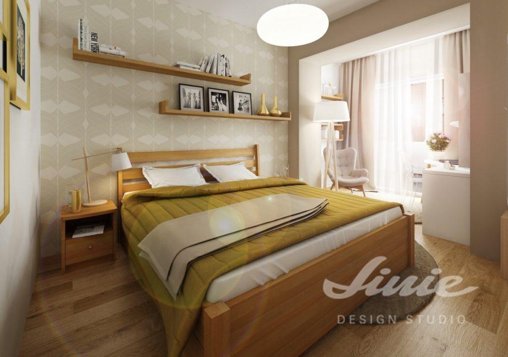 Inspirace pro ložnice se žlutými detaily