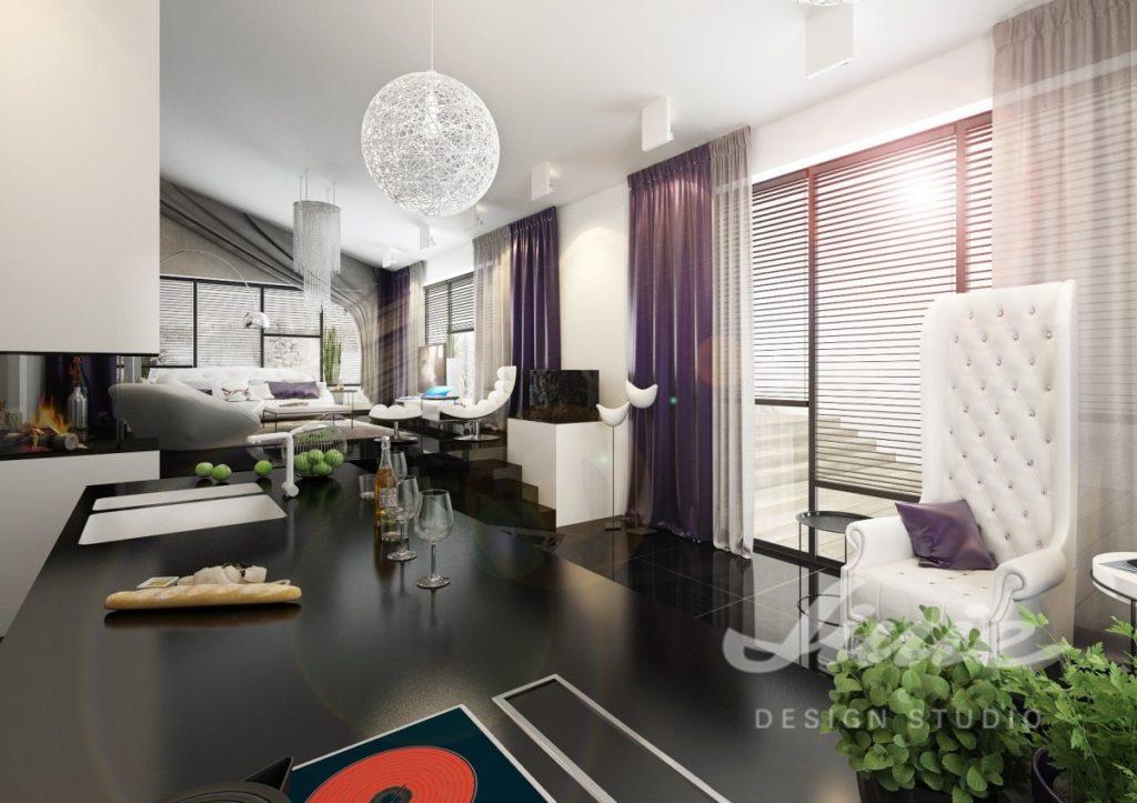 Inspirace pro obývací pokoj s barevným textilem