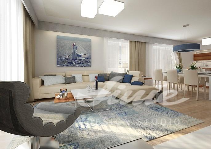 Inspirace pro obývací pokoj s pastelovými prvky