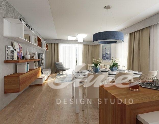 Inspirace pro obývací pokoj v krémových tónech