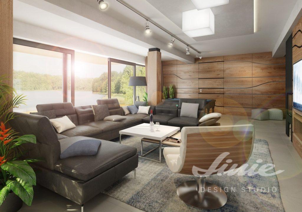 Inspirace pro obývací pokoj s přírodními prvky