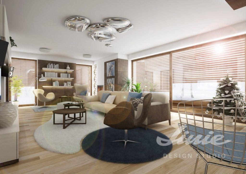 Inspirace pro obývací pokoj ve světlých odstínech