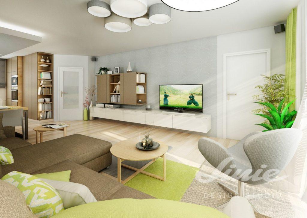 Inspirace pro obývací pokoj s interiérem v přírodních odstínech