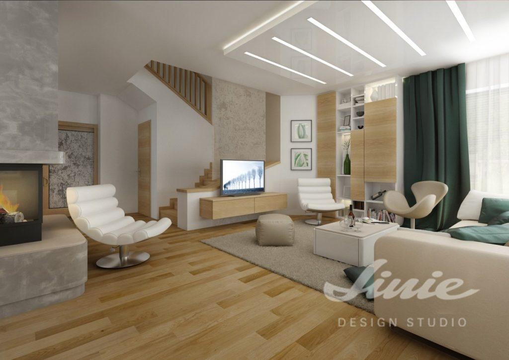 Inspirace pro obývací pokoj s křesly v bílé a béžové barvě