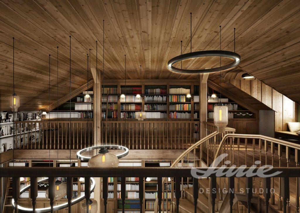 Inspirace pro obývací pokoj s dřevěným obložením