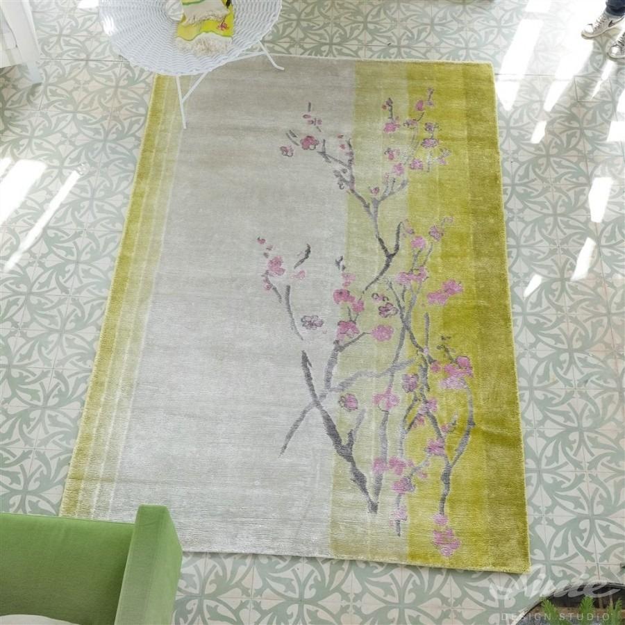 kusový koberec vzor sakury