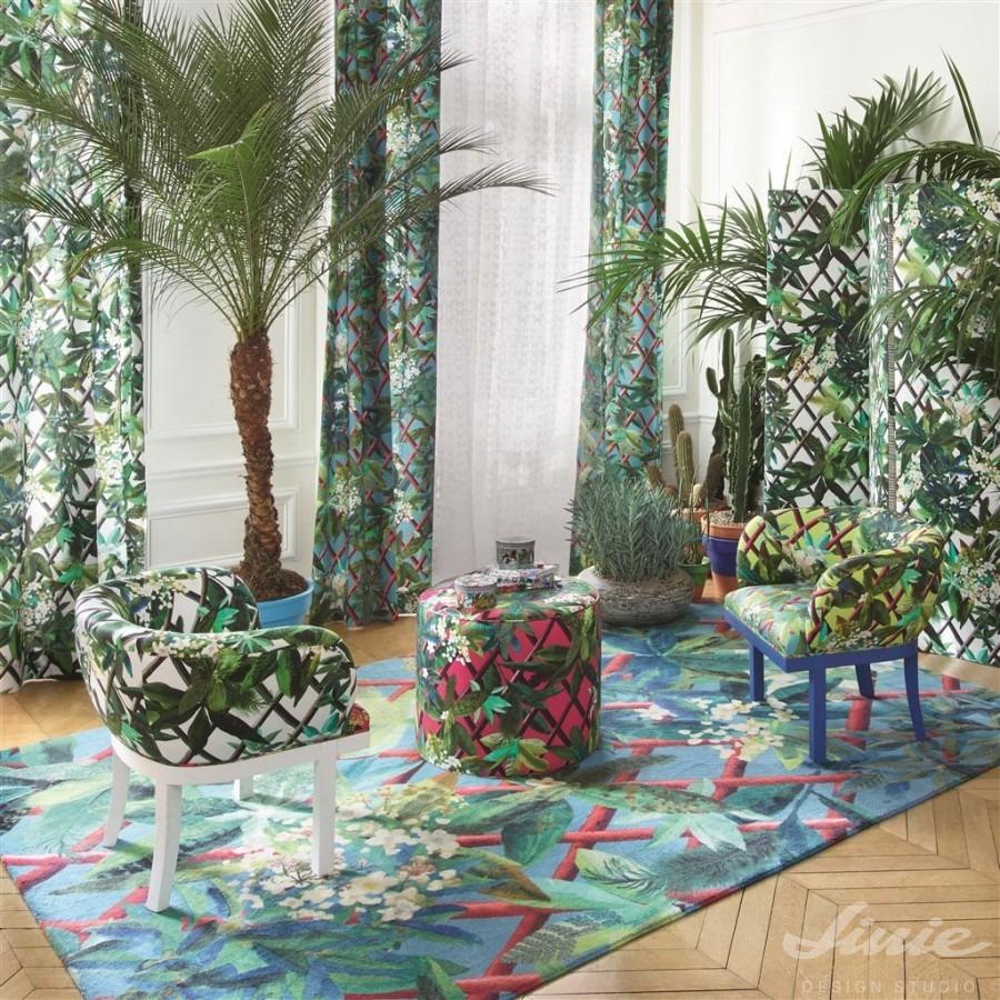 Extravagantní barevný koberec lacroix
