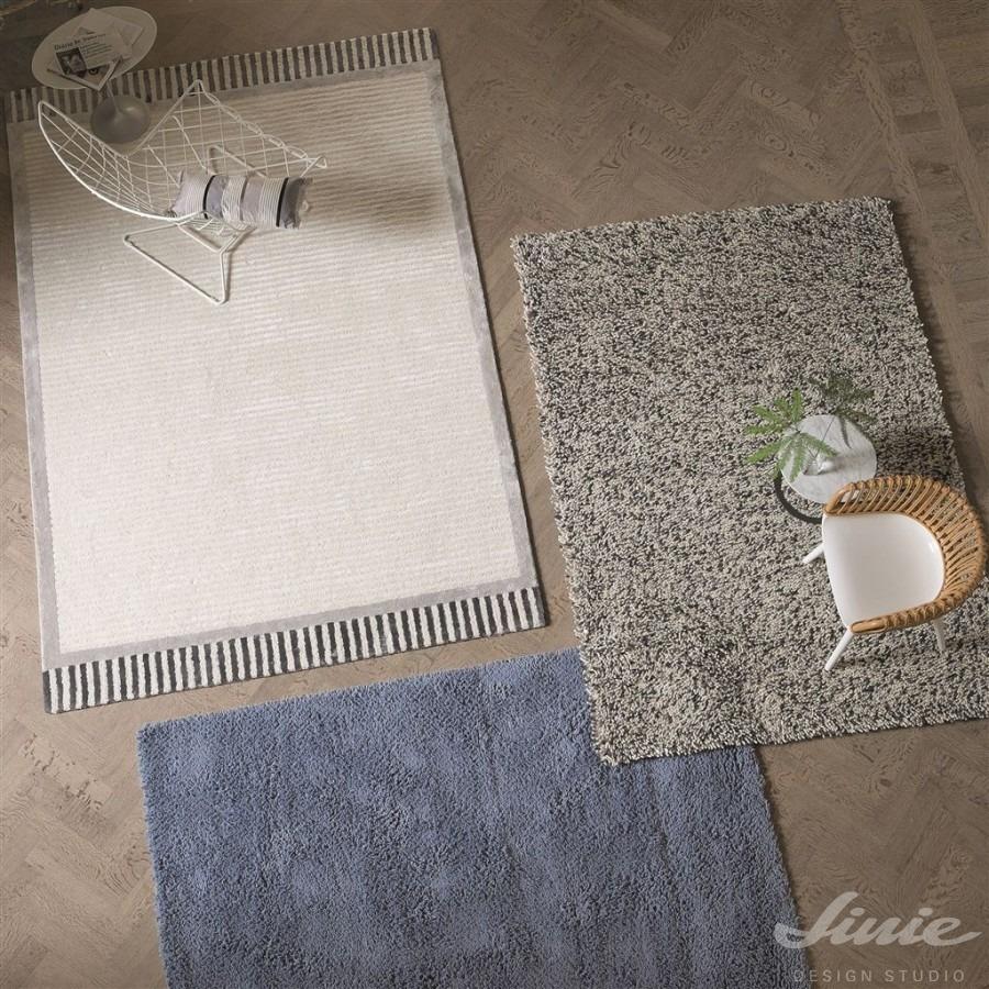 Interiérové kusové koberce v neutrálních barvách