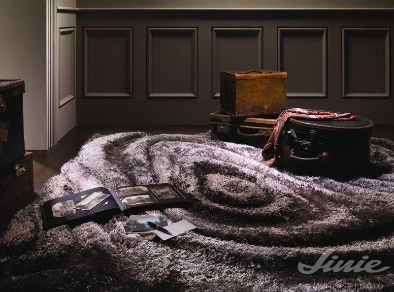 luxusní koberec stepevi hnědý