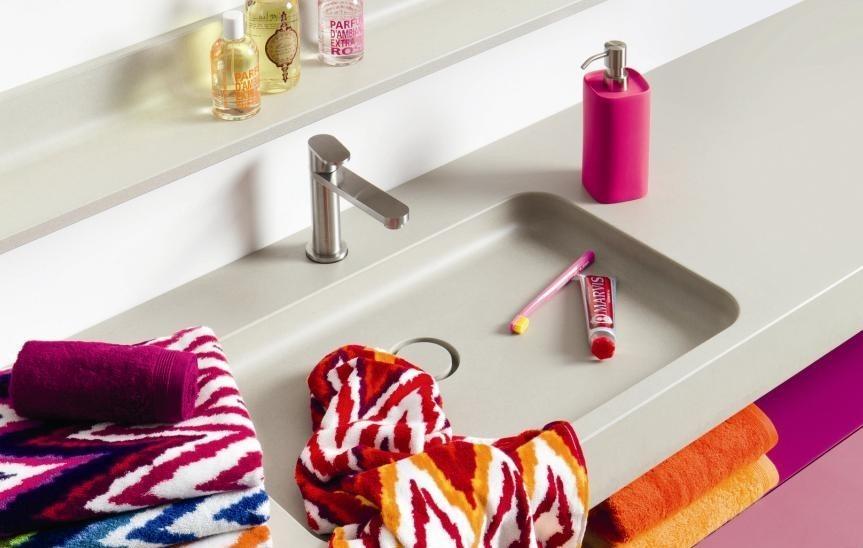 Koupelnová souprava vzorovaných ručníků