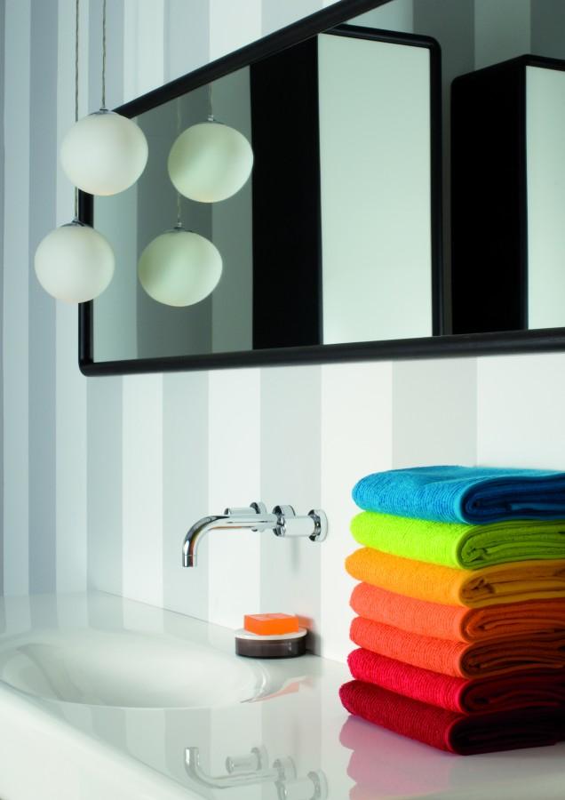 Koupelnová souprava barevných ručníků